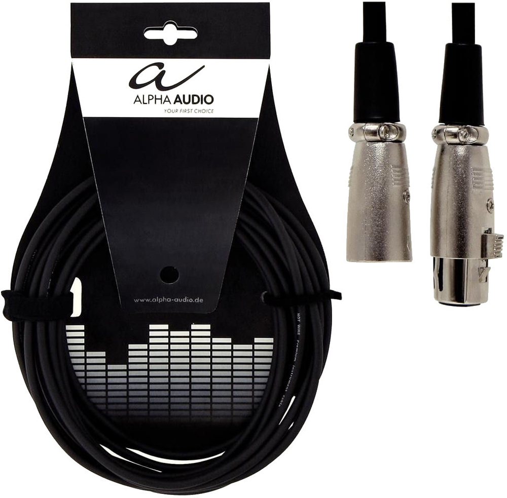 Alpha Audio MIC-XLR-6m