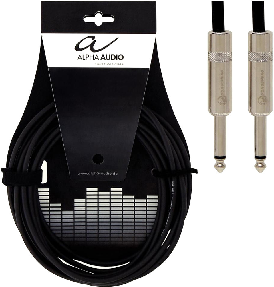 Alpha Audio Neutrik Patch N-STR-MO-0,15m