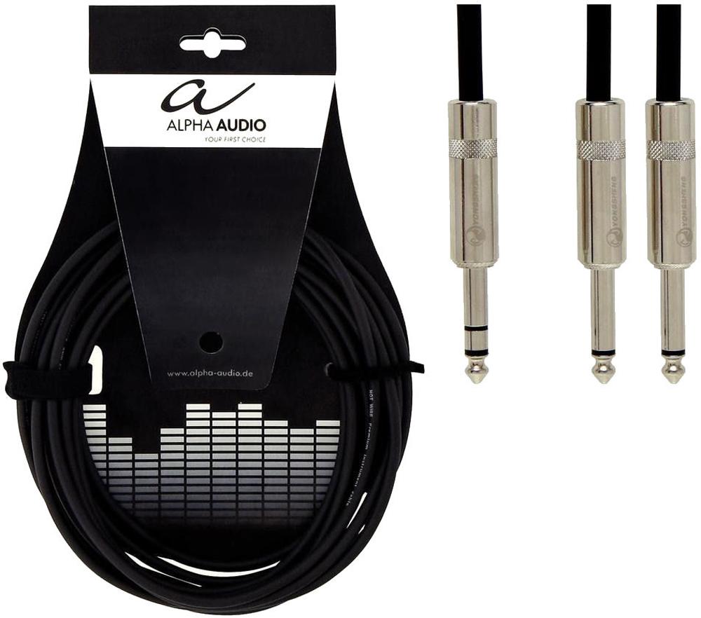 Alpha Audio Neutrik Insert cable N-ST-2MO-3m