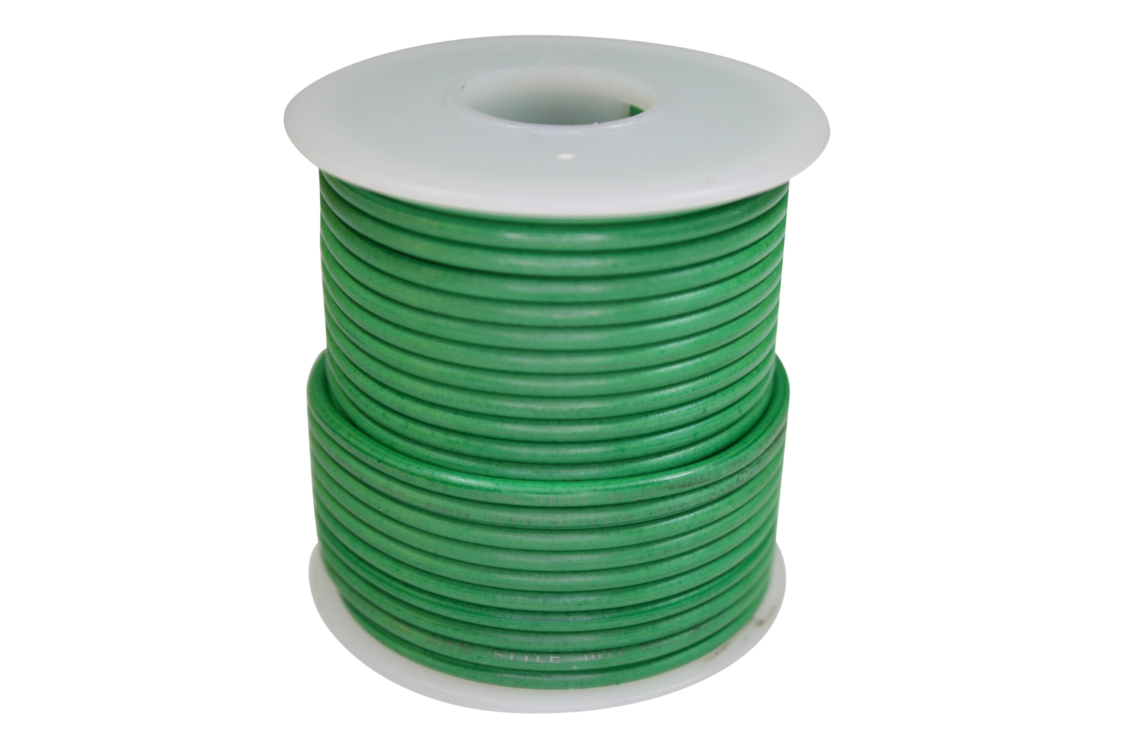 Wire 600V-STR-50ft Green