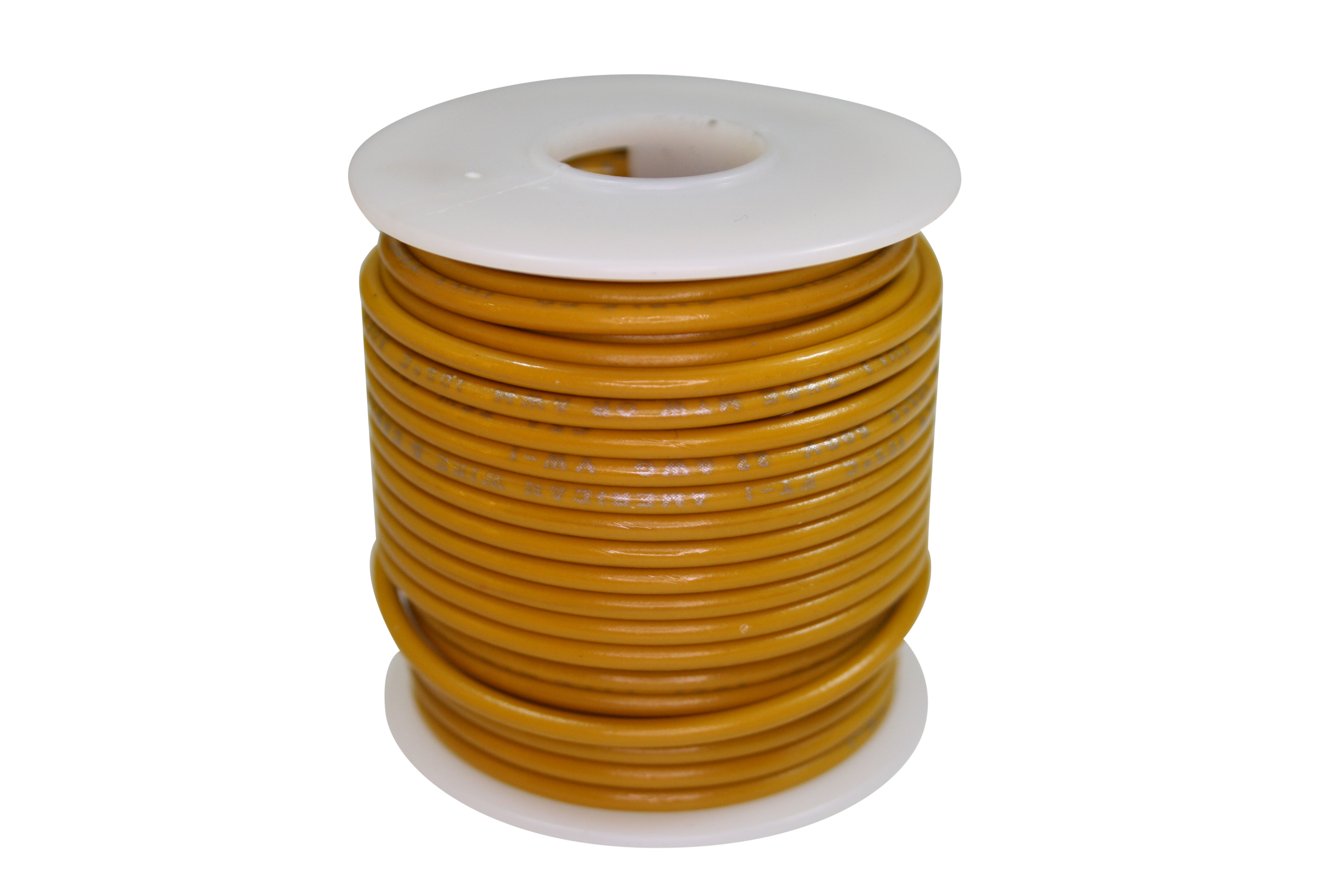 Wire 600V-STR-50ft Yellow