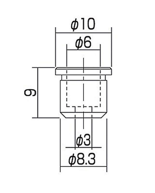 String Sockets SET6-G-GLD