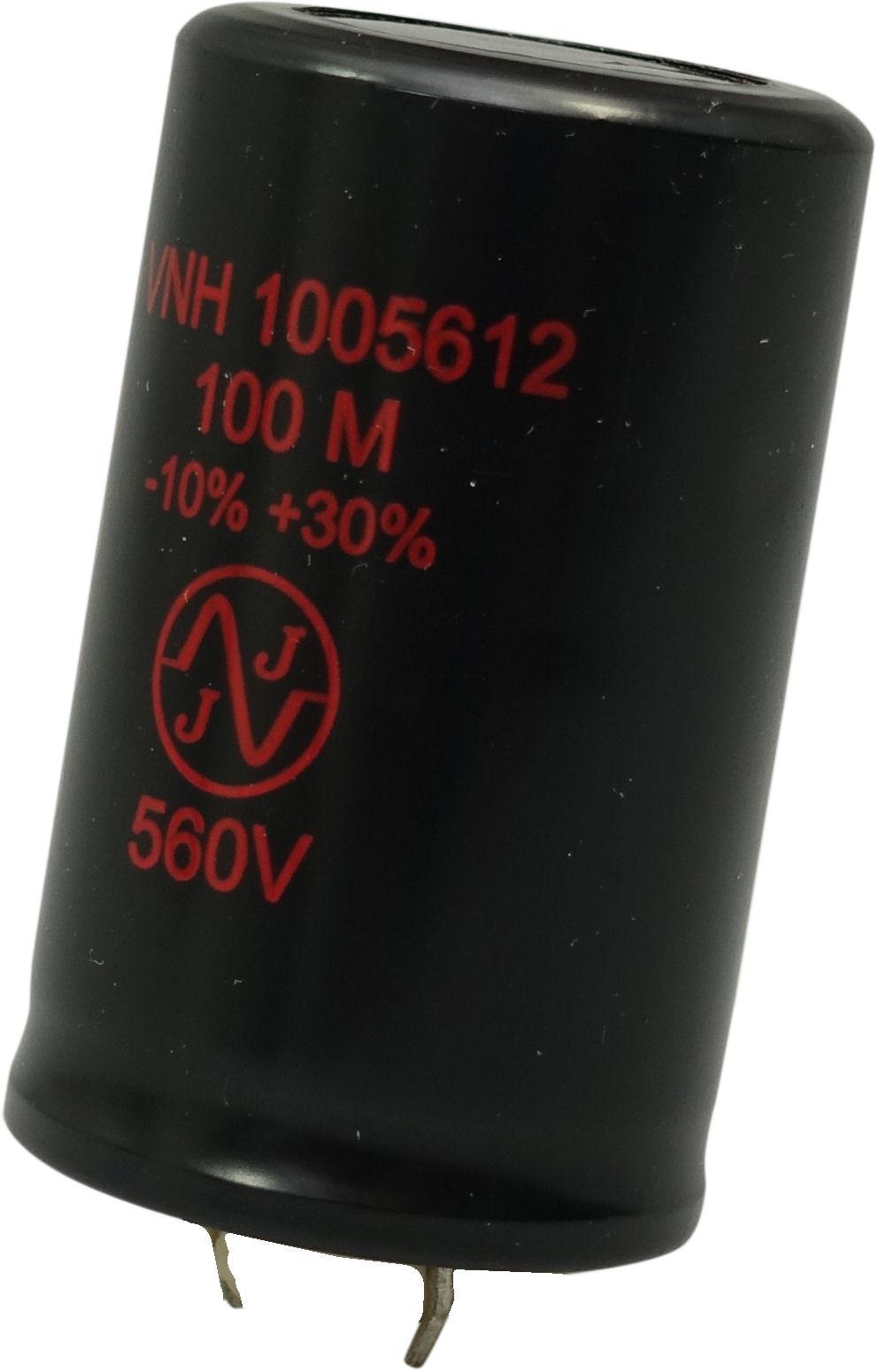 JJ 100uF, 560V radial