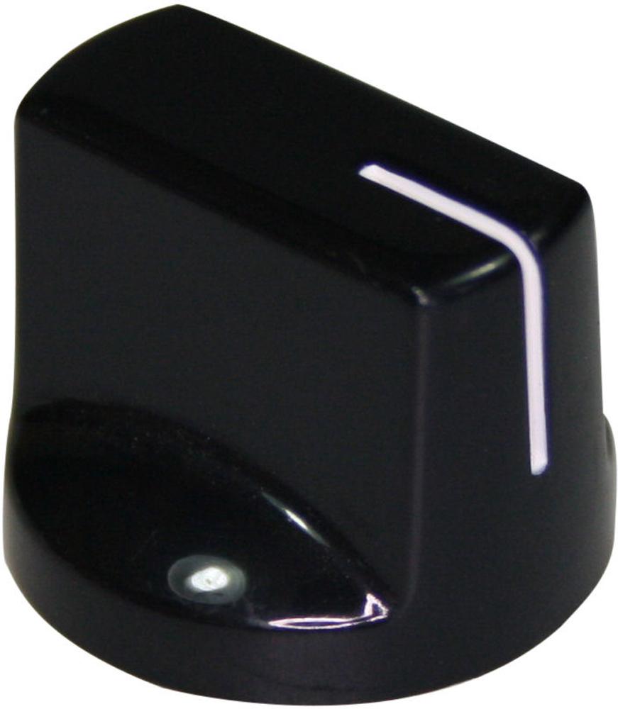 Black pointer knob PSH