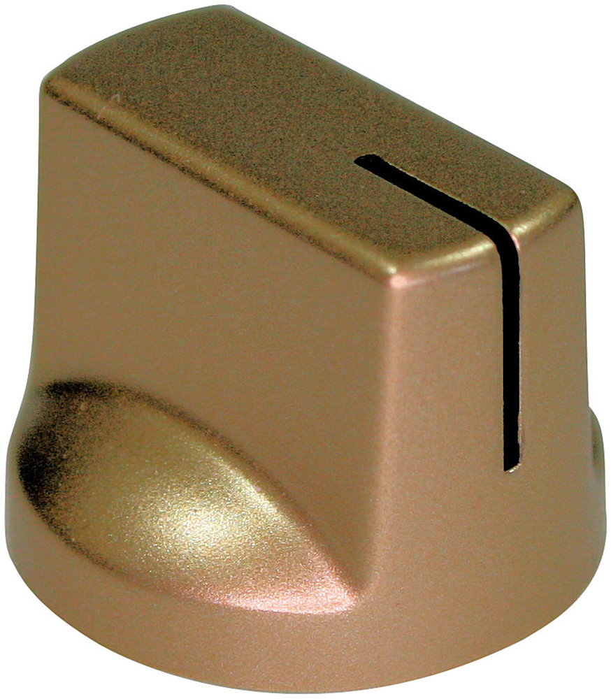 Gold pointer knob Black Index