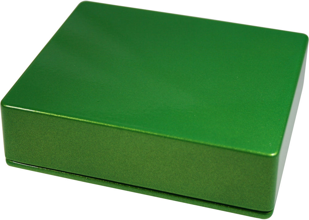 Enclosure BBDD-Apple Green Sparkle-Bulk