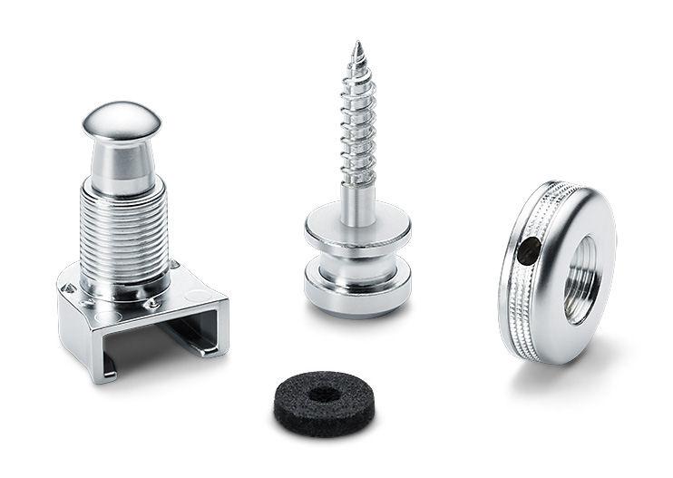 Schaller S-Locks Satin Chrome