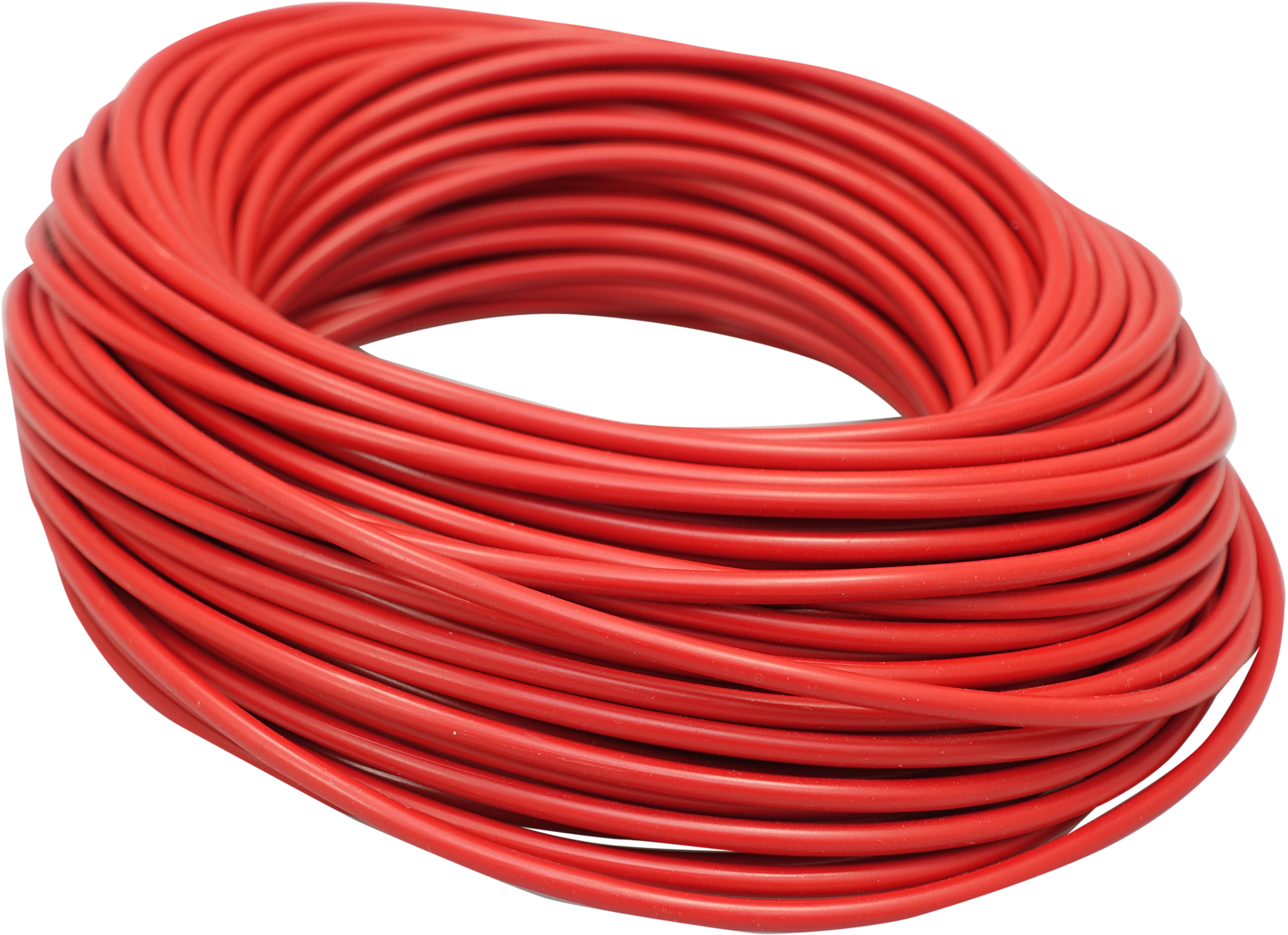 PVC Wire 0,75mm, red 25m