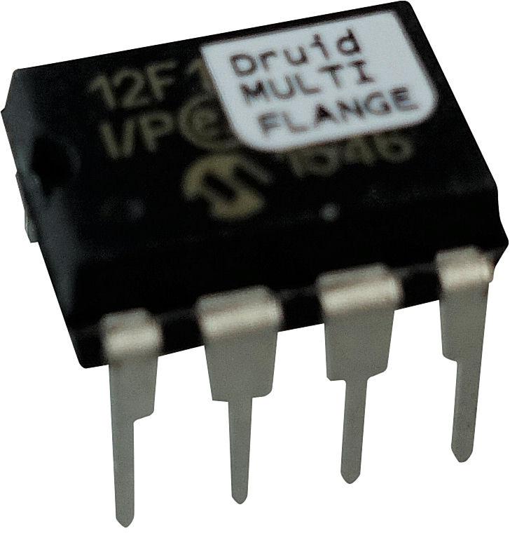 Electric Druid MULTIFLANGE flanger delay clock