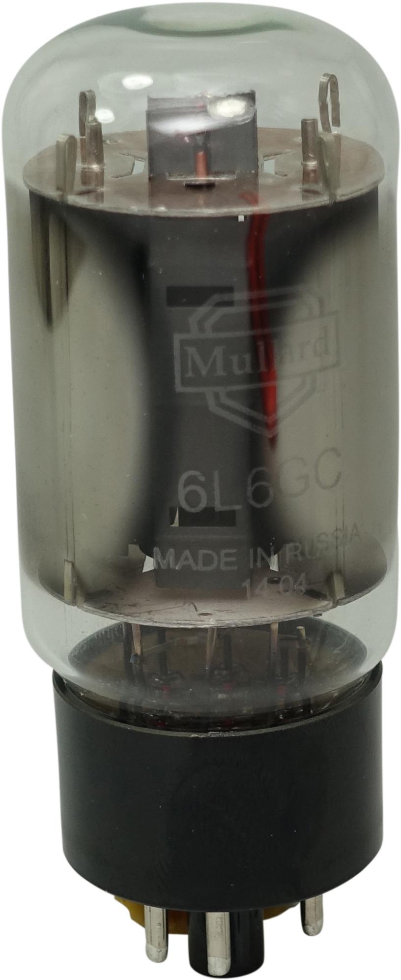 6L6GC Mullard Platinum Matched