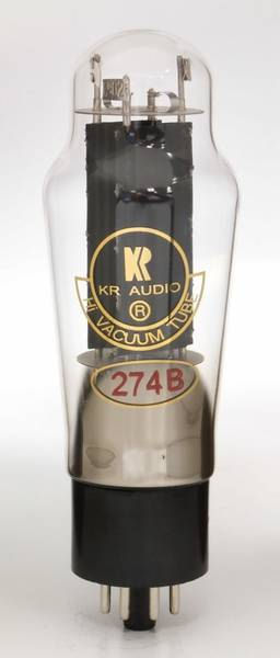 KR Audio 274B Pair Full-wave, Thermionic High Vacuum Rectifier