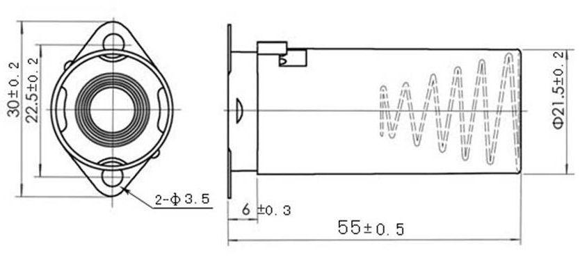 Tube Shield SH-7 55mm