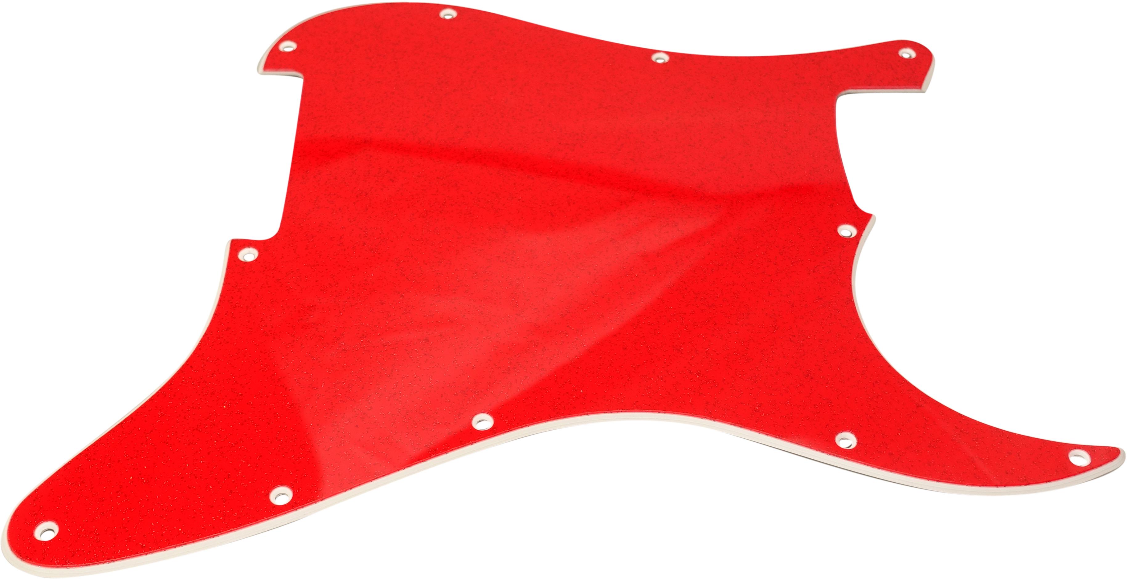 Toronzo Pickguard ST-NH-2PLY-Sparkle Red