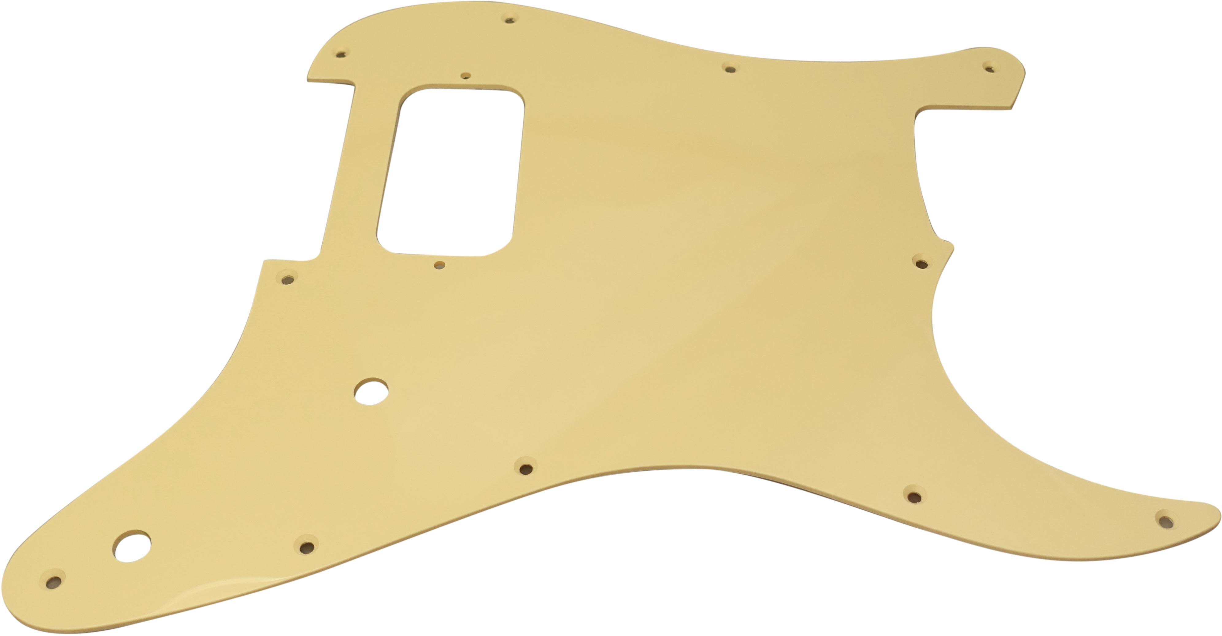 Toronzo Pickguard ST-H-2P-1PLY-Cream