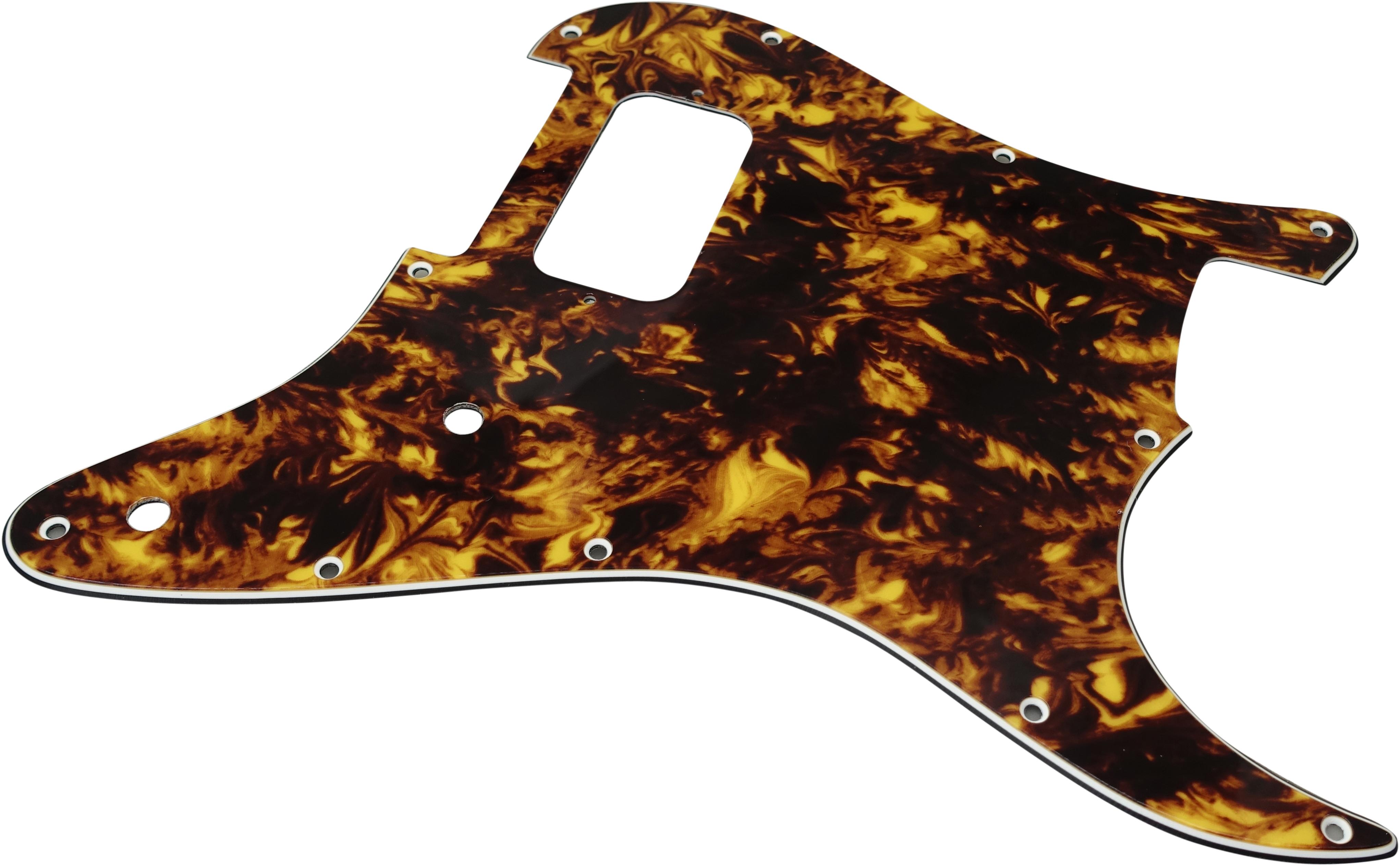 Toronzo Pickguard ST-H-2P-3PLY-Marble Yellow