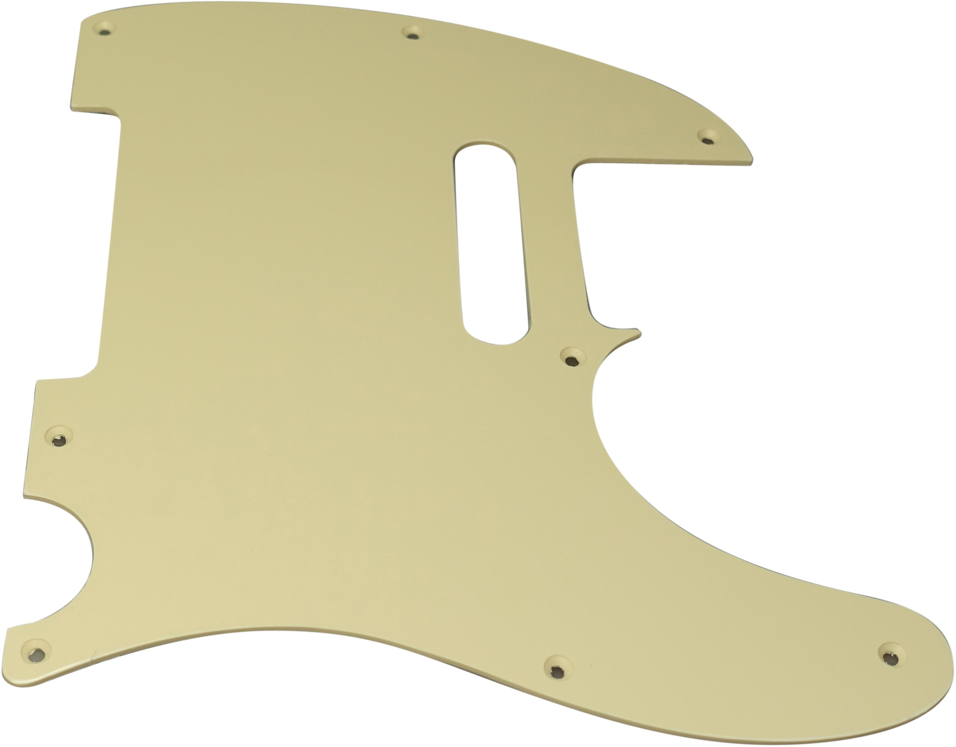 Toronzo Pickguard TE-1PLY-Cream