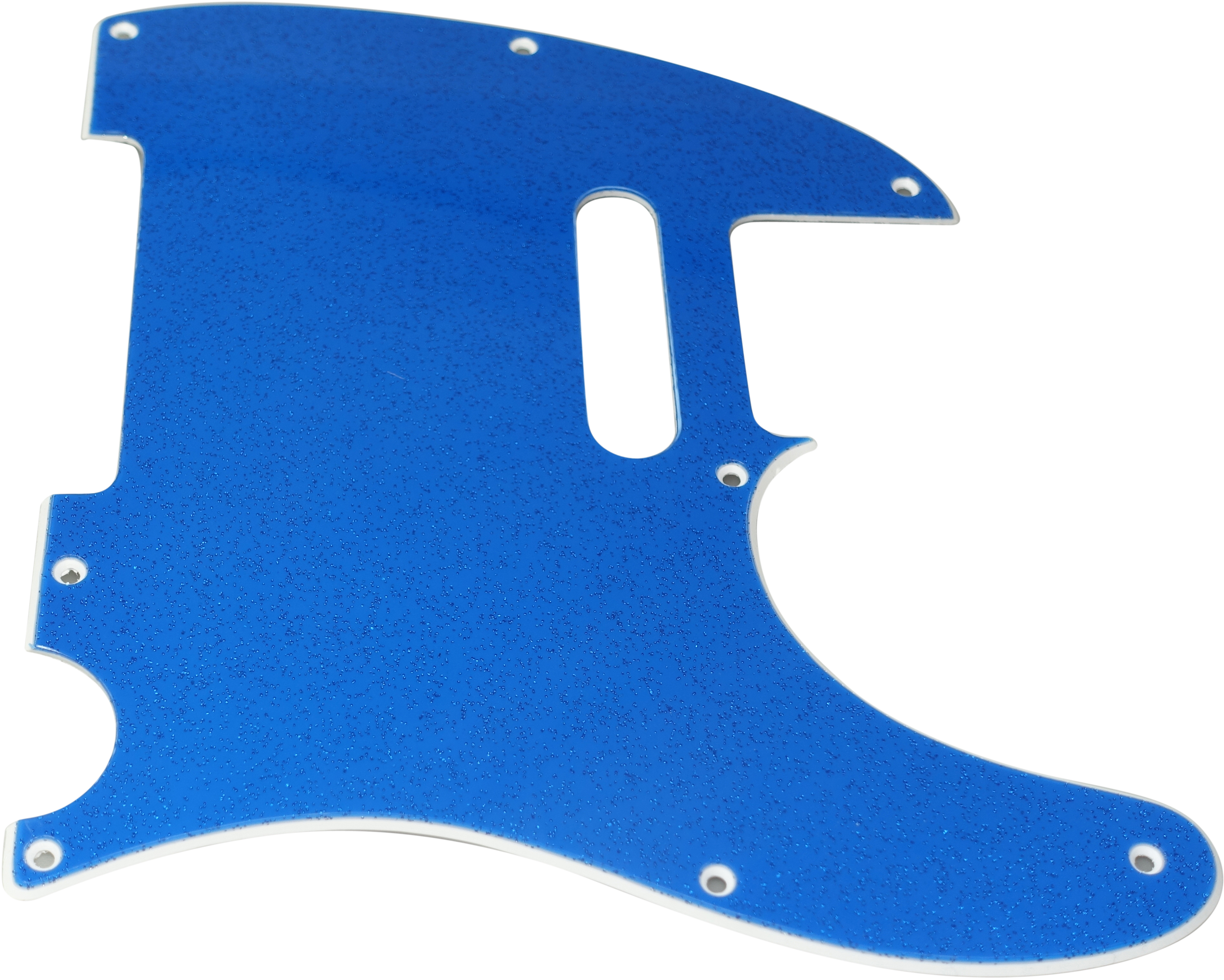 Toronzo Pickguard TE-2PLY-Sparkle Blue
