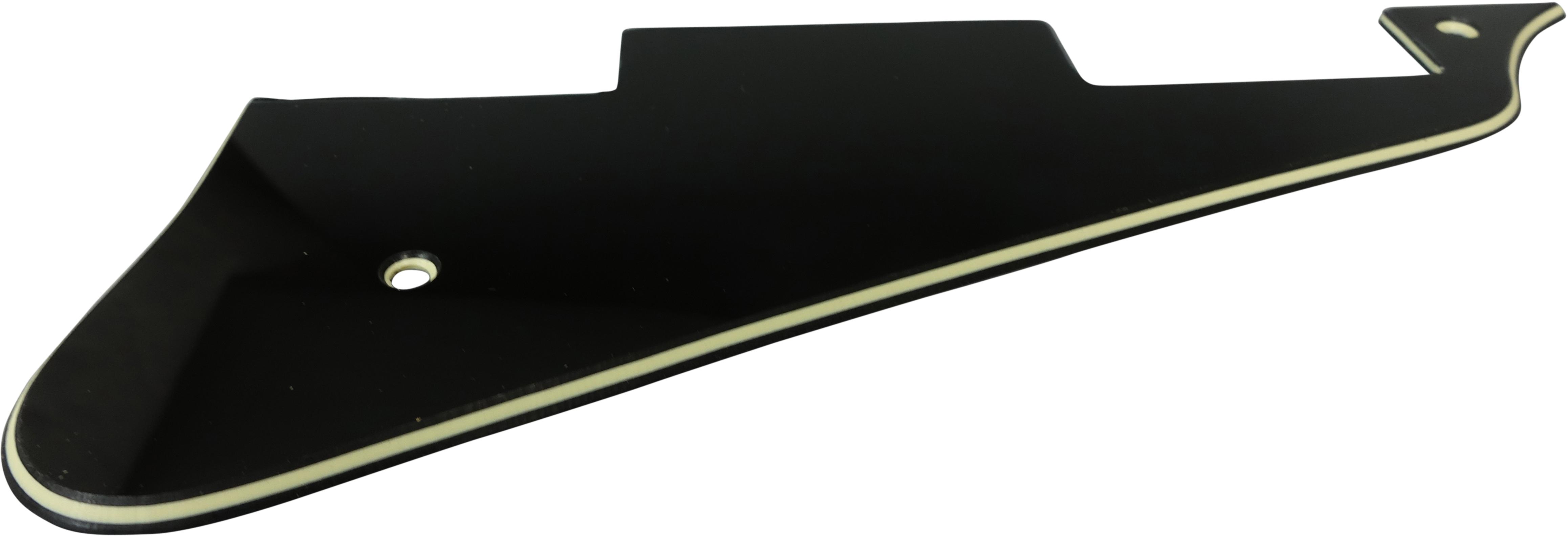 Toronzo Pickguard LP-3PLY-Black Cream