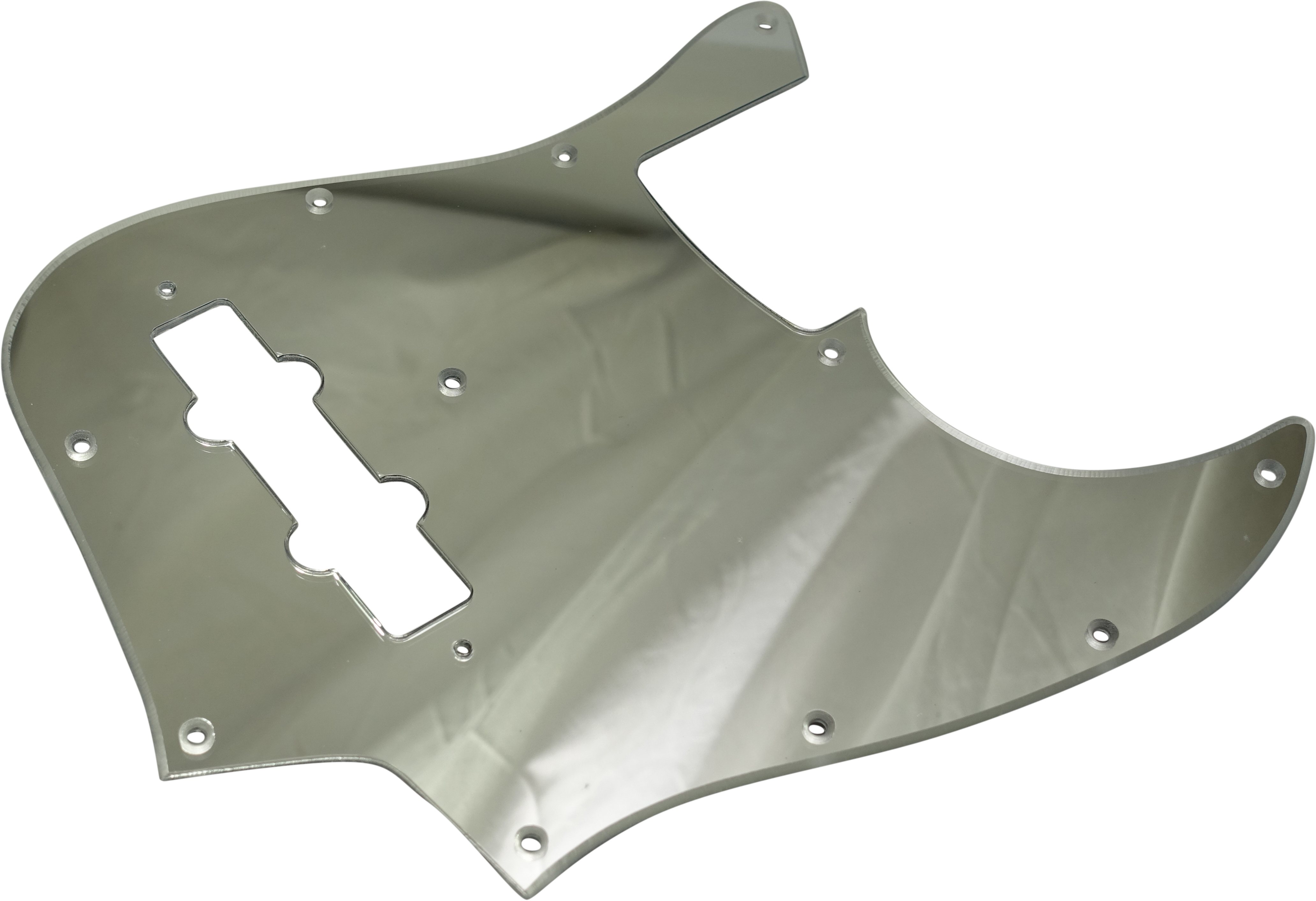 Toronzo Pickguard JB-2PLY-Mirror Chrome