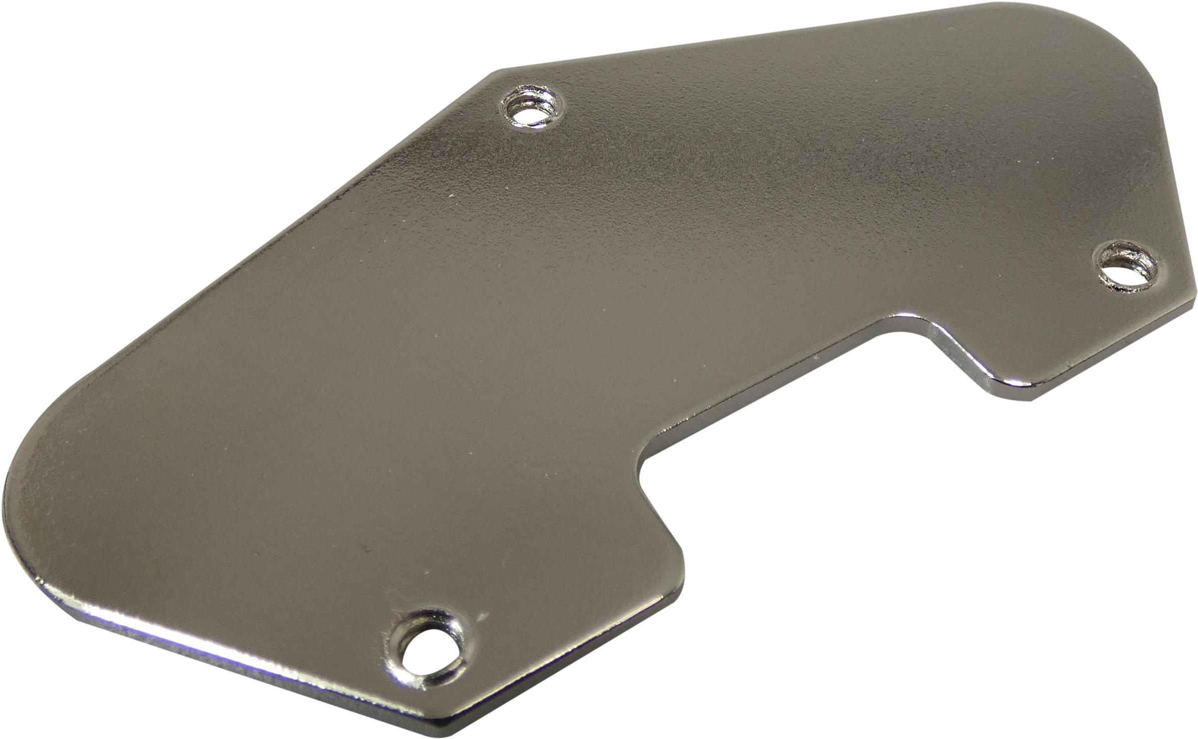 Tele Grounding Plate Nickel