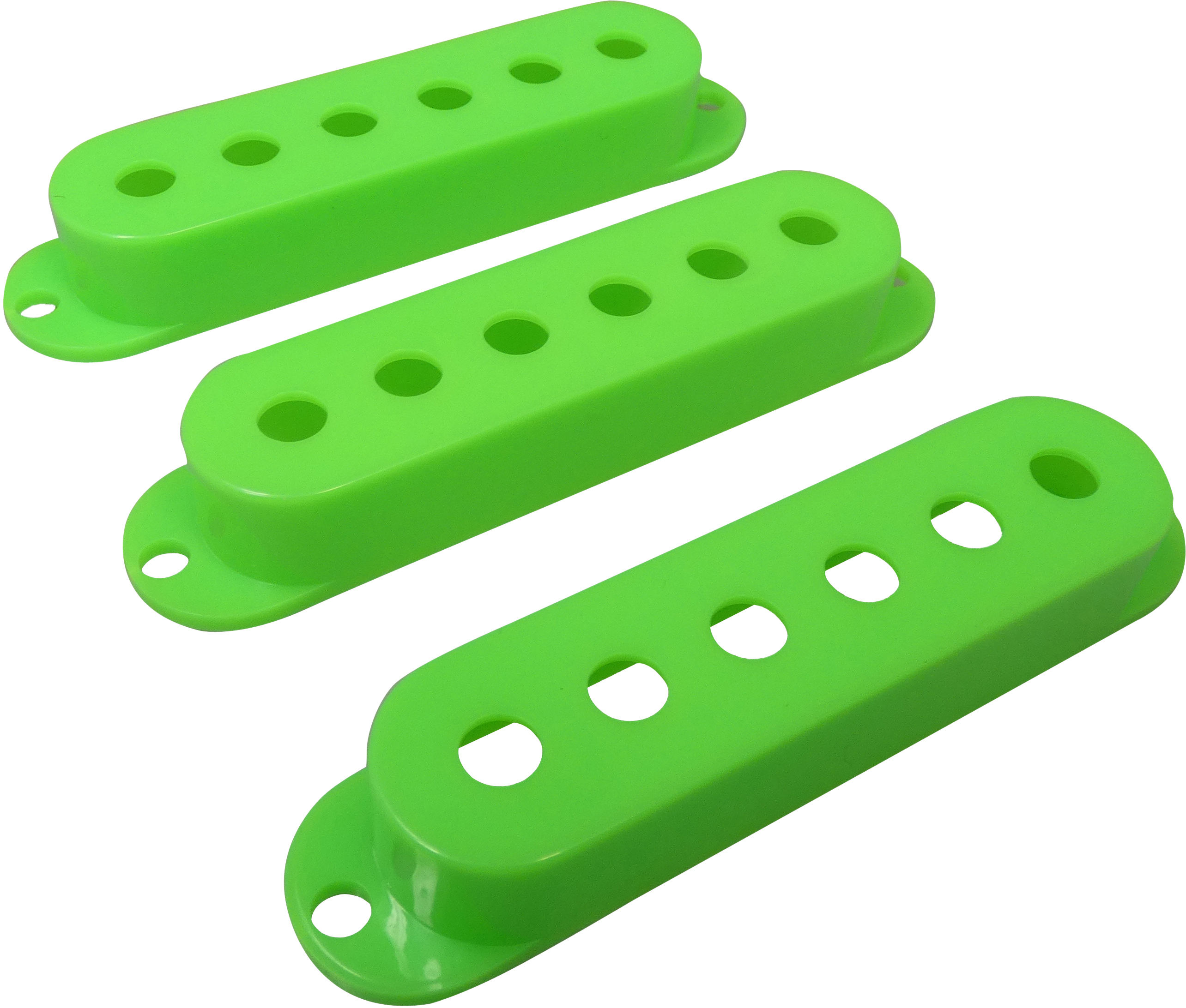 Strat Pickup Cover Set Green