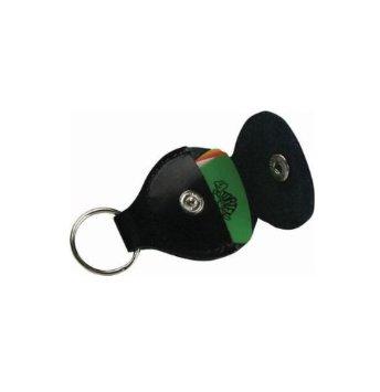 Dunlop Keychain Pick Holder silver