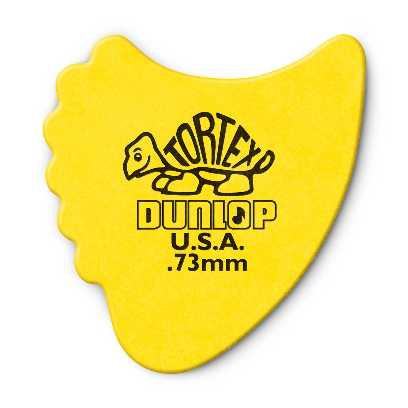 Dunlop - Tortex Fins 0,73 yellow