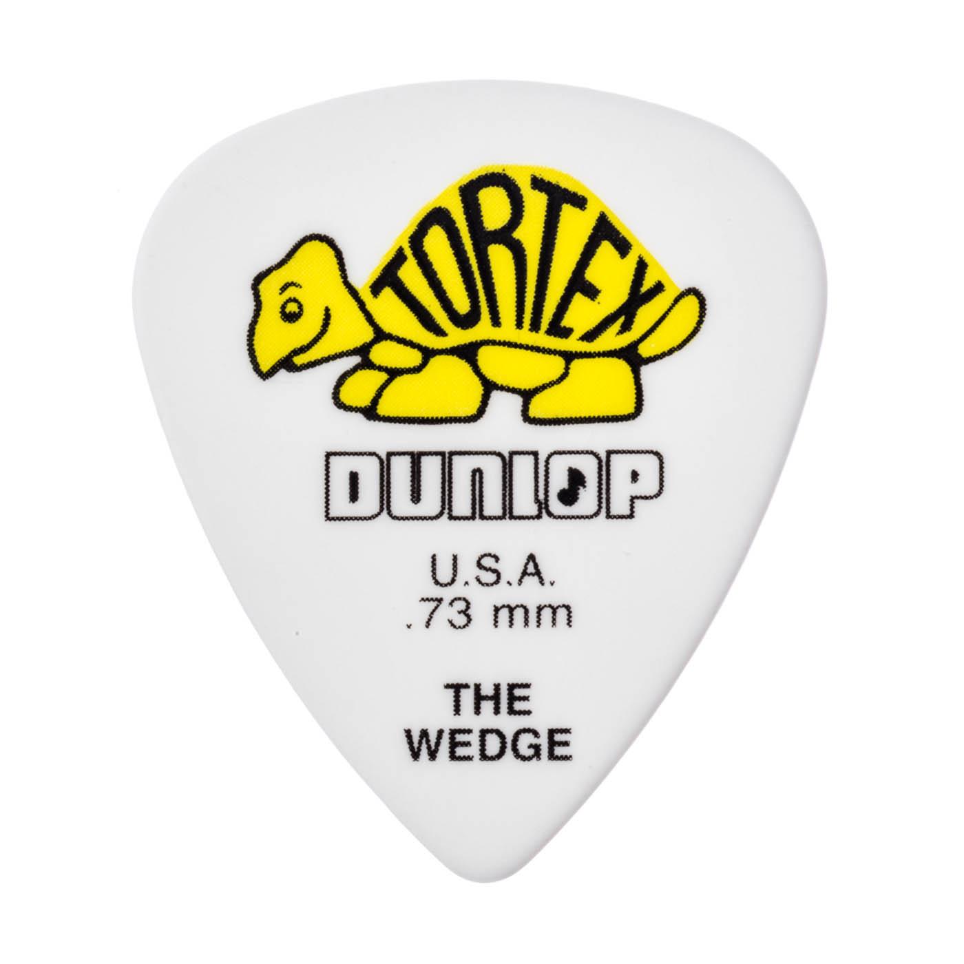 Dunlop - Tortex Wedge 0,73 yellow