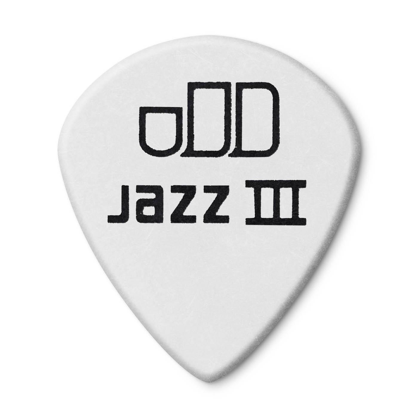 Dunlop Tortex Jazz III White 1,5
