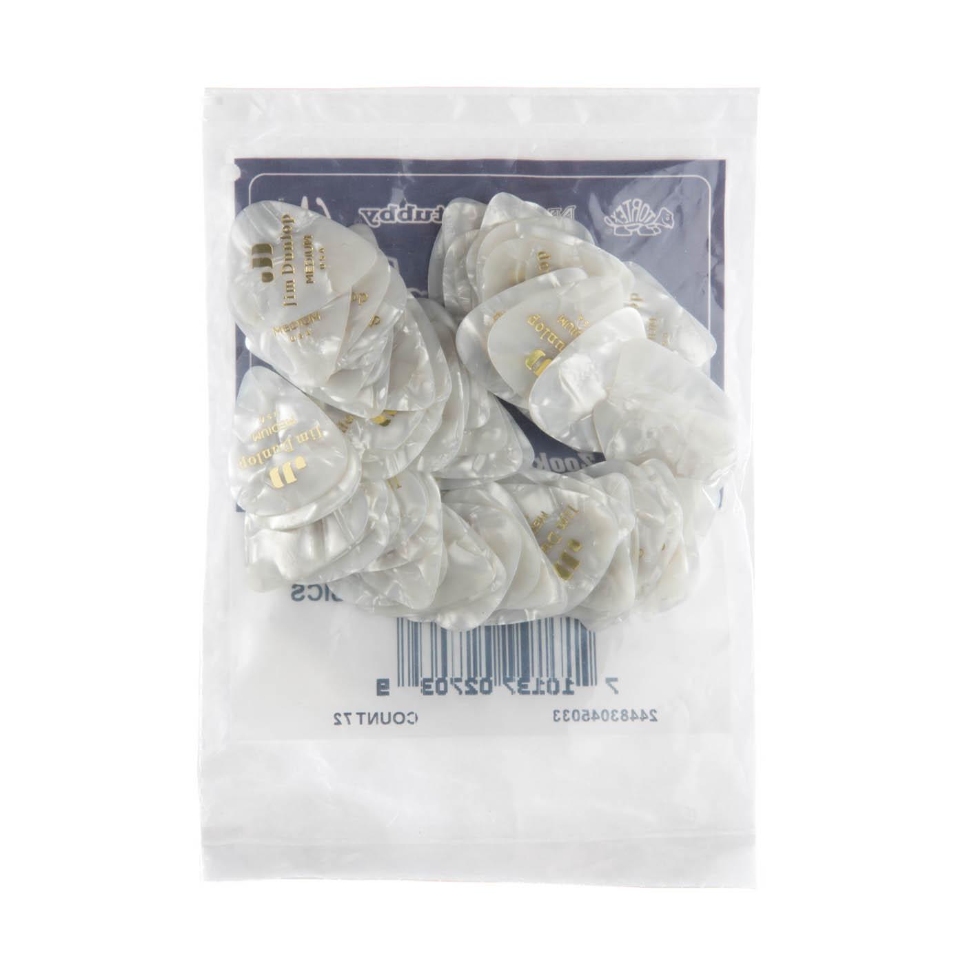 Dunlop - White Perloid medium
