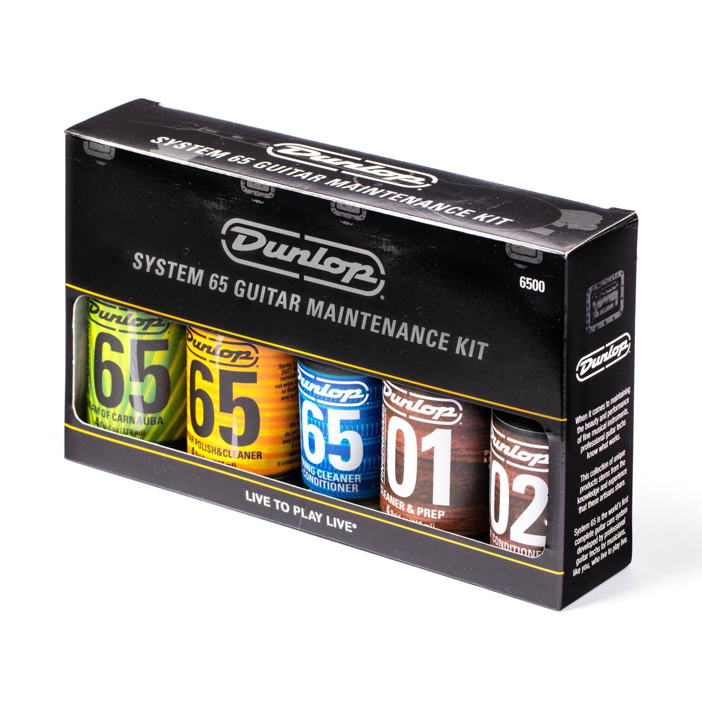 Dunlop Guitar Maintenance Kit 6500