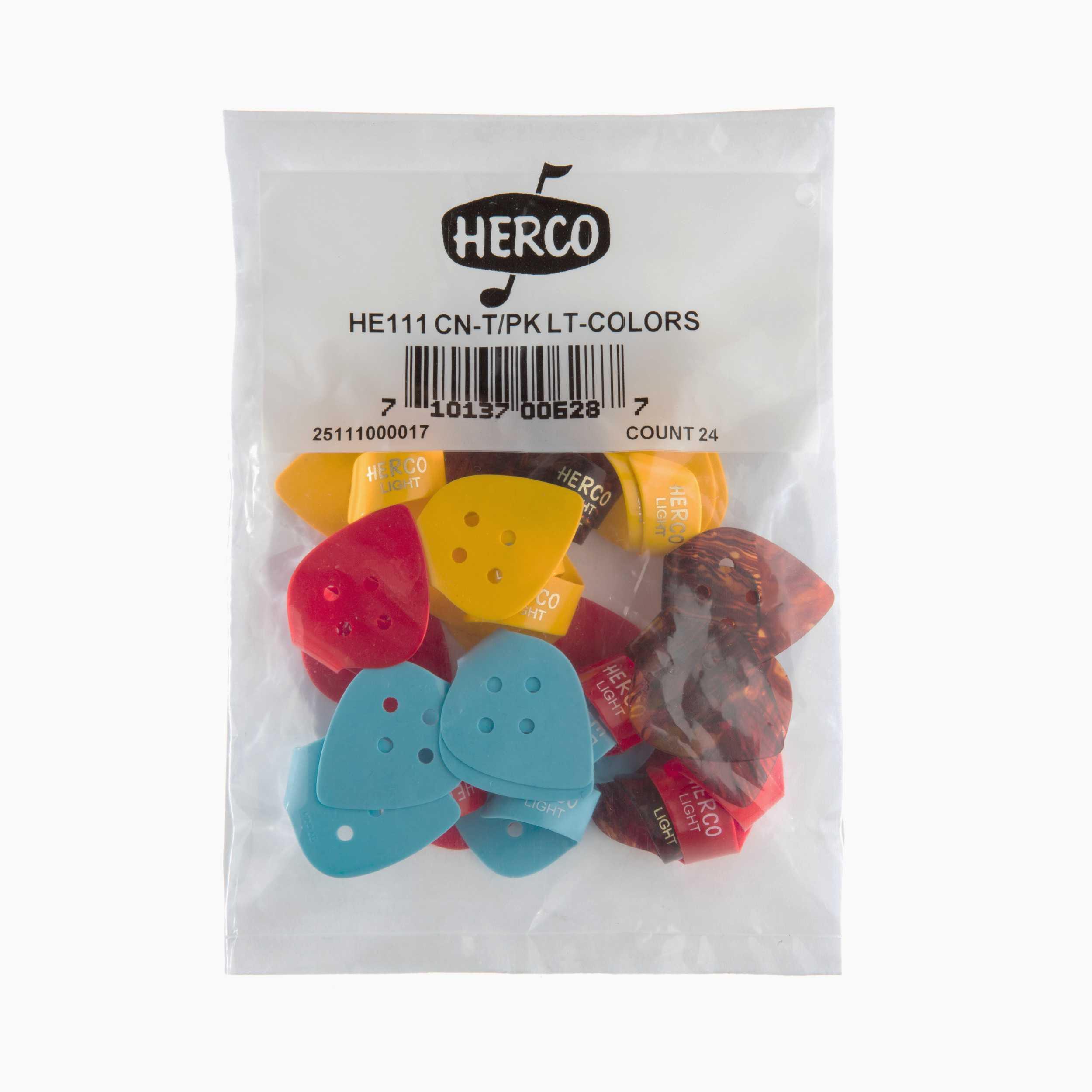 Herco Flat Thumbpick, light