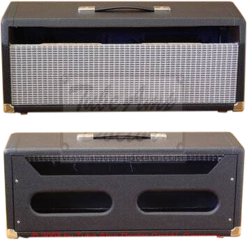 BLACKFACE DELUXE REV HEAD CAB BLK