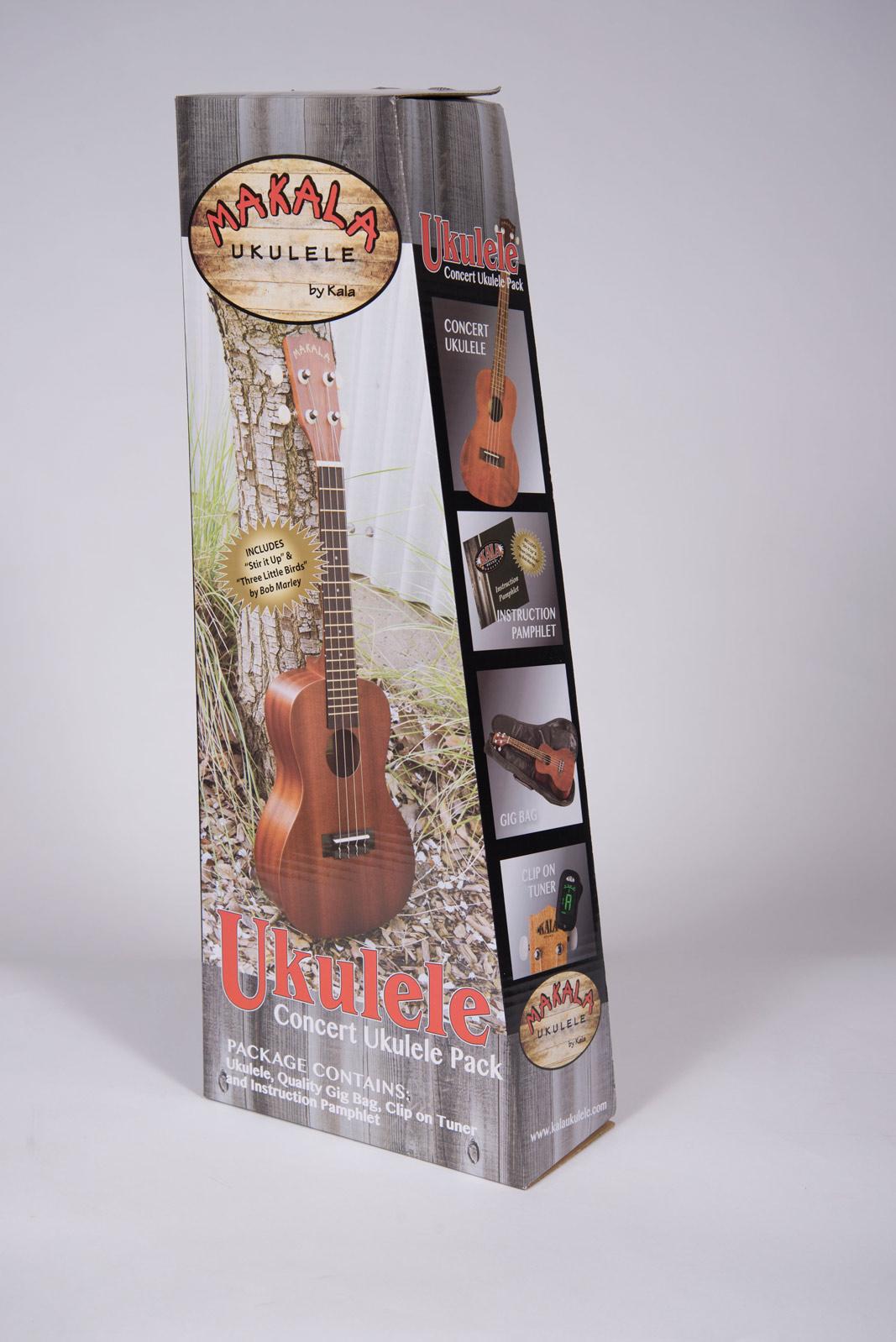 Kala Makala Concert Pack with Tuner