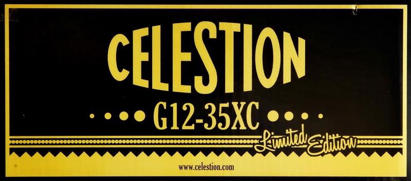 Celestion G12-35XC Pulsonic-Style  - 8 ohms