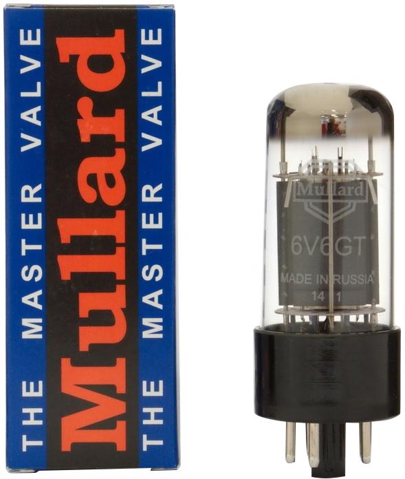 6V6 Mullard Platinum Matched