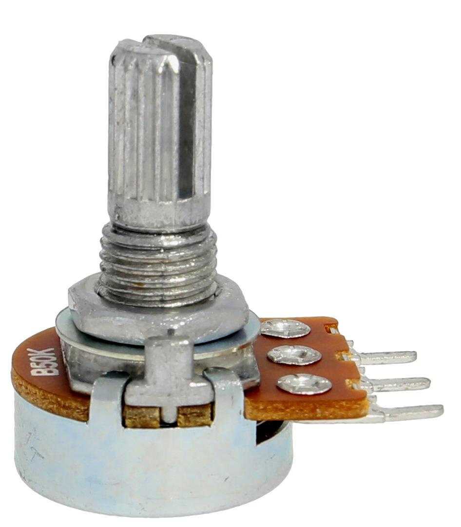 Alpha 16mm split shaft potentiometer