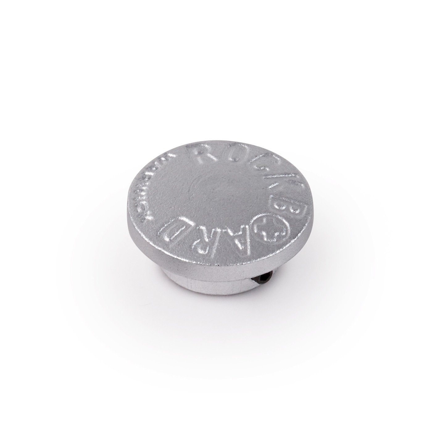 StomPete Footswitch Topper, 3 pcs. - Silver