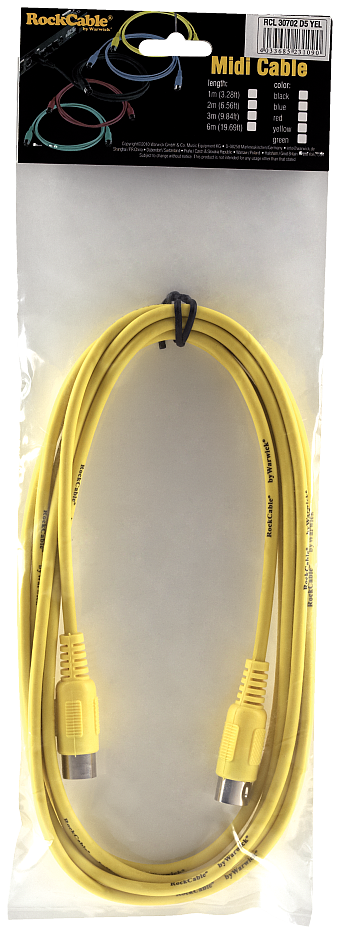 RockCable RCL 30701 D5 YEL