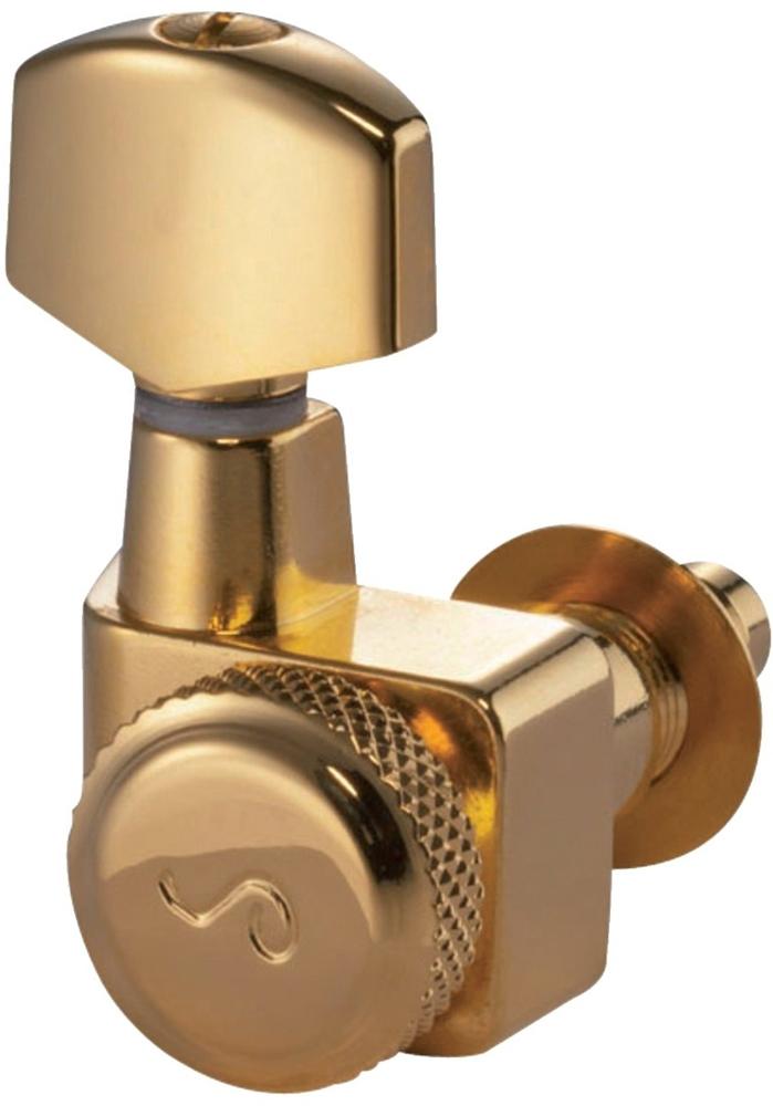 Schaller Machine Head F-Series Locking 6 left. Gold