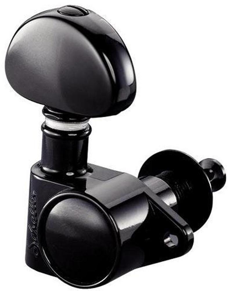 Schaller Machine Head M6 Vintage 6 left. Black
