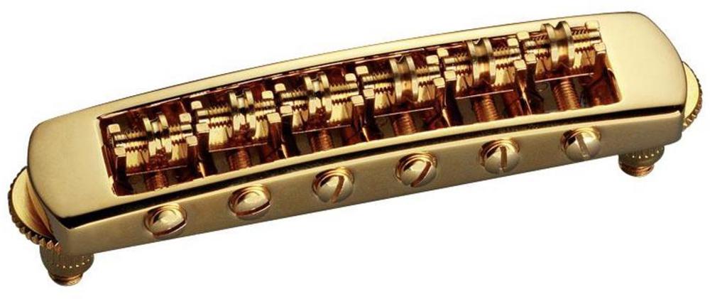 Schaller E-Guitar bridge STM Gold