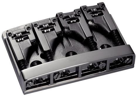 Schaller E-Bass-bridge 3D-4 4-string Ruthenium
