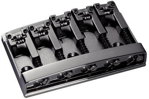 Schaller E-Bass-bridge 3D-5 5-string Ruthenium