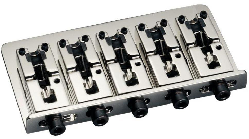 Schaller E-Bass-bridge 2000 5-string Nickel