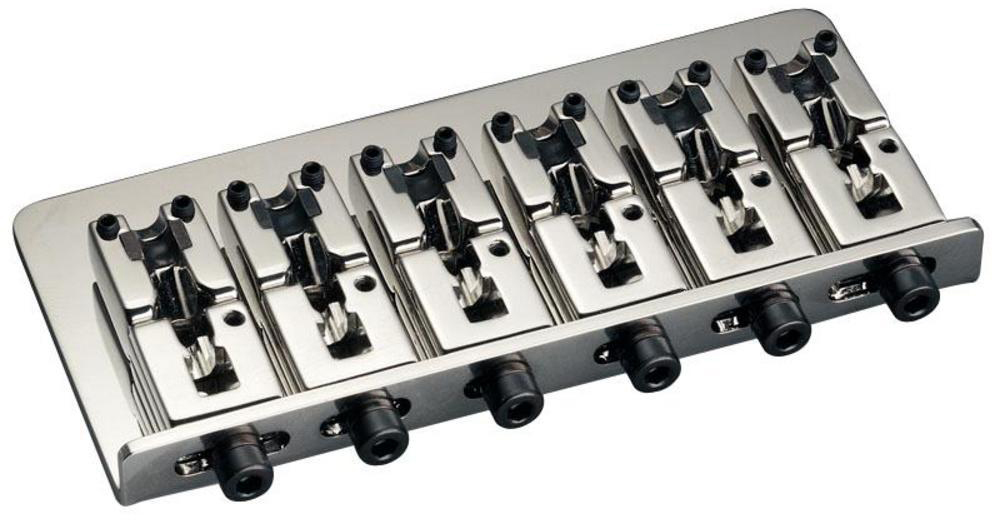 Schaller E-Bass-bridge 2000 6-string Nickel