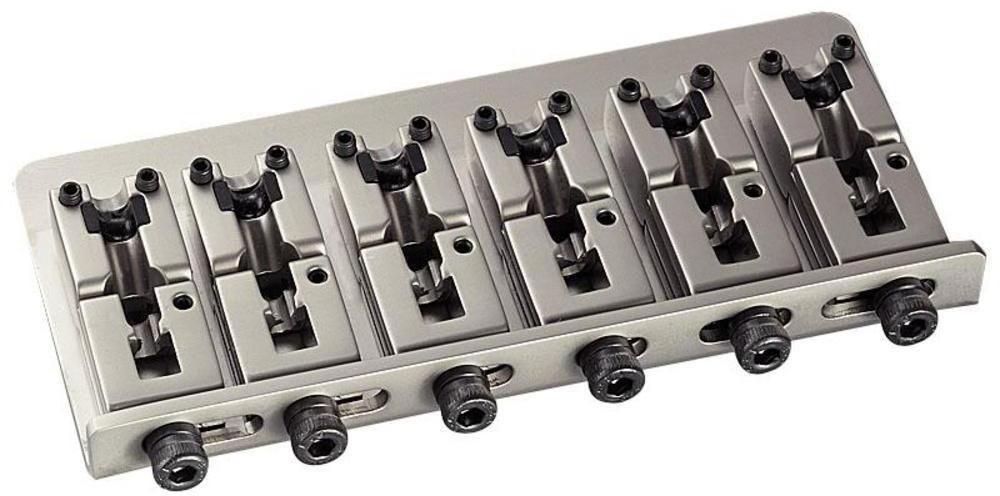 Schaller E-Bass-bridge 2000 6-string Satin Pearl