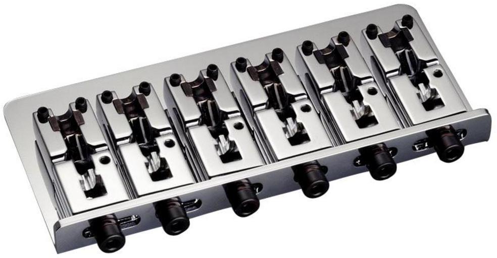 Schaller E-Bass-bridge 2000 6-string Chrome