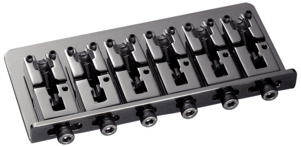 Schaller E-Bass-bridge 2000 6-string Ruthenium