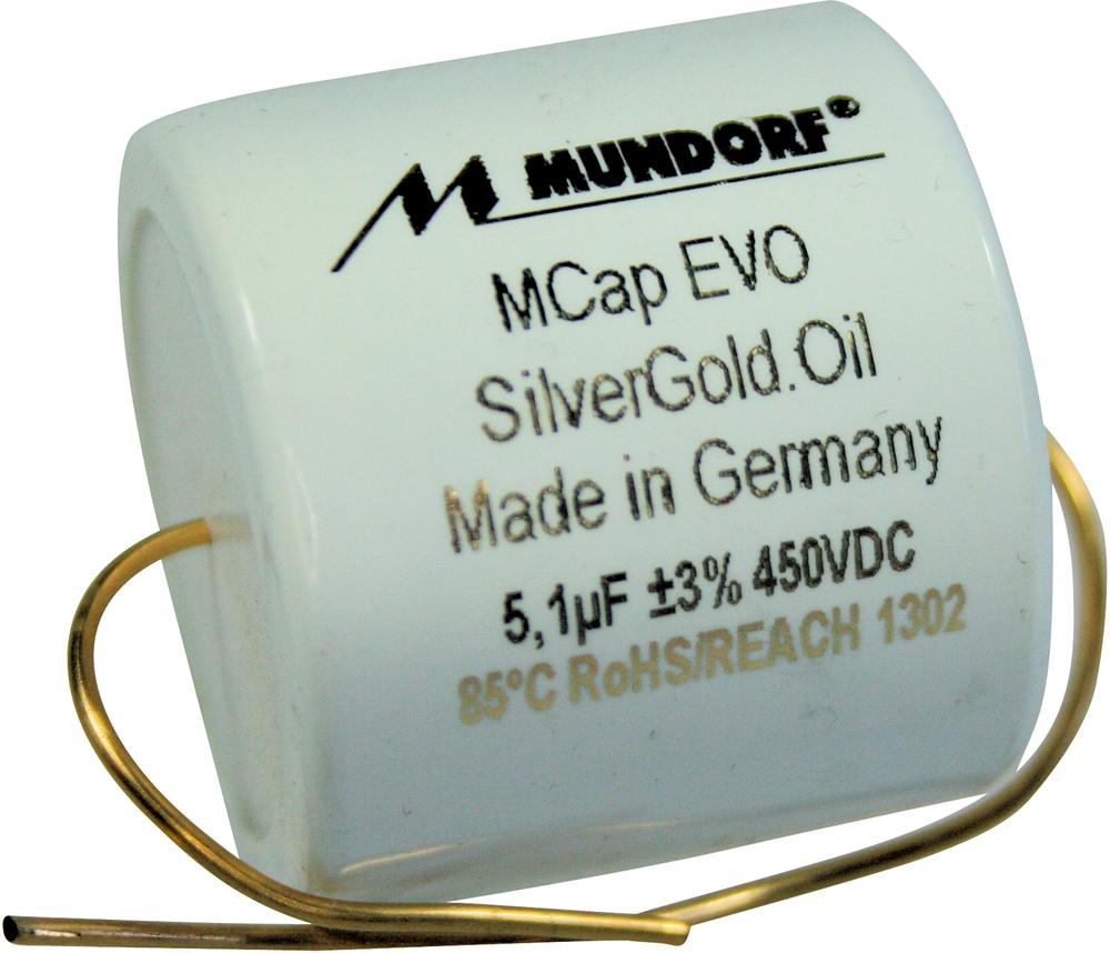 Mundorf MCap EVO Silver Gold Oil